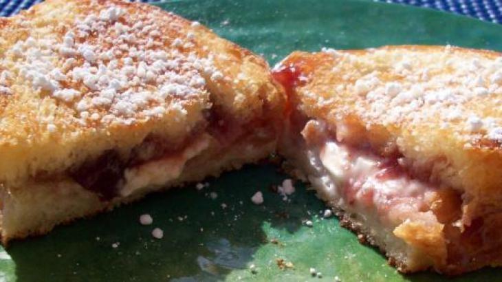 Wake-Up Stuffed French Breakfast Panini   Panini   Pinterest