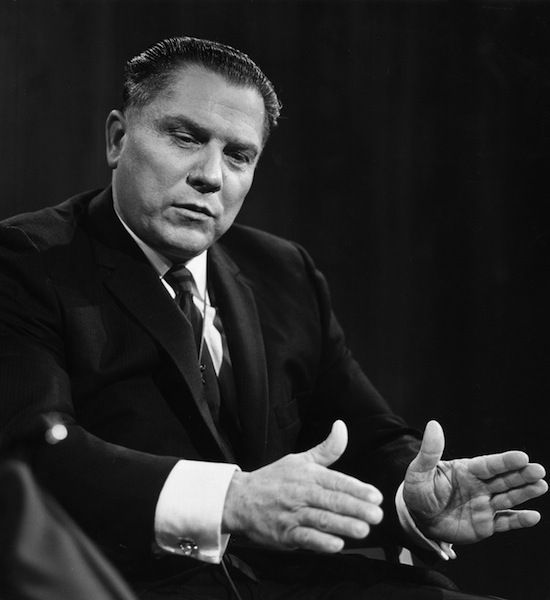 jimmy hoffa The life of powerful union leader jimmy hoffa is the subject of this biographical drama the focus is strongly on hoffa's public and political life, from his early days as a labor organizer to his later conflicts with the federal government -- and, eventually, his mysterious disappearance ~ judd blaise, rovi.