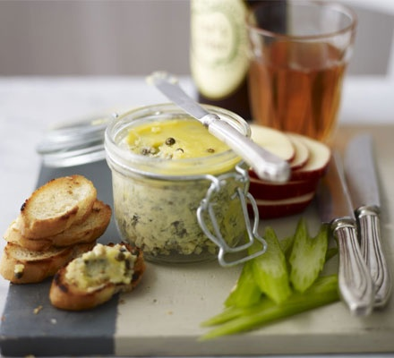Potted Stilton | Foodie Inspiration | Pinterest