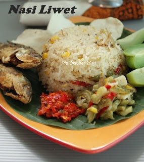 nasi liwet indonesian food pinterest