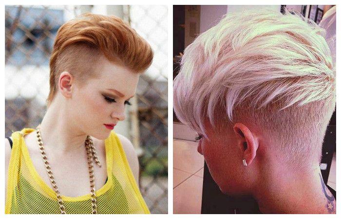 Креативные стрижки на средние волосы 2017-2018 с челкой