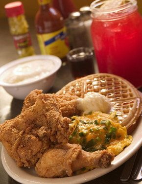 So Good Mall: Melba's Paper Bag Fried Chicken with Egg Nog Waffles ...