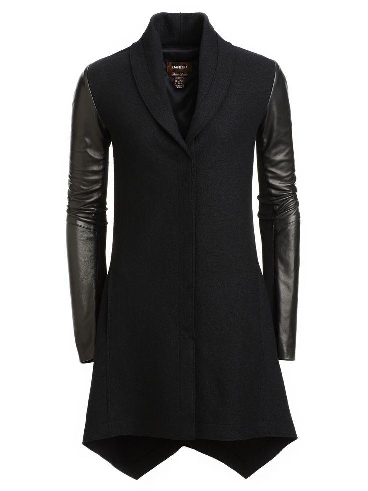 Leather jacket danier