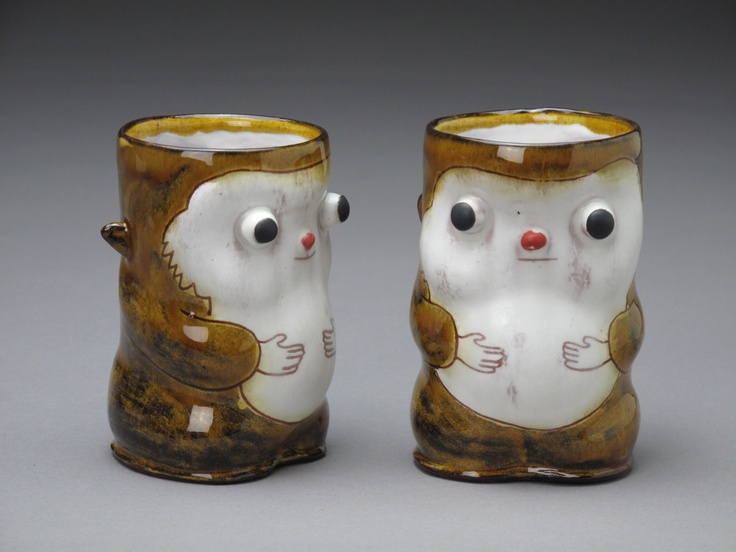 Mikey Walsh  Squirrel Mugs