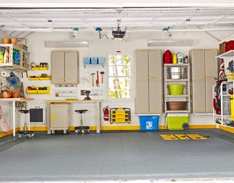 3 tips for creating a supremely organized garage