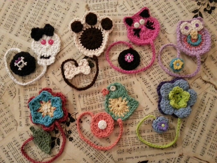 Crochet Bookmarks : Crochet bookmarks Crochet Goodies Pinterest
