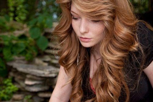 Pretty strawberry blonde highlights   hairs   Pinterest