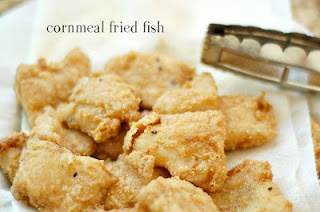 Cornmeal fried fish food seafood pinterest for Cornmeal fried fish