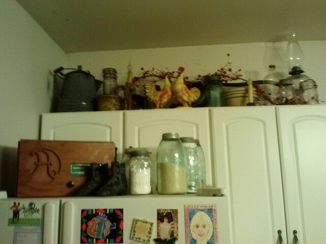 kitchen collectibles farmhouse country style pinterest