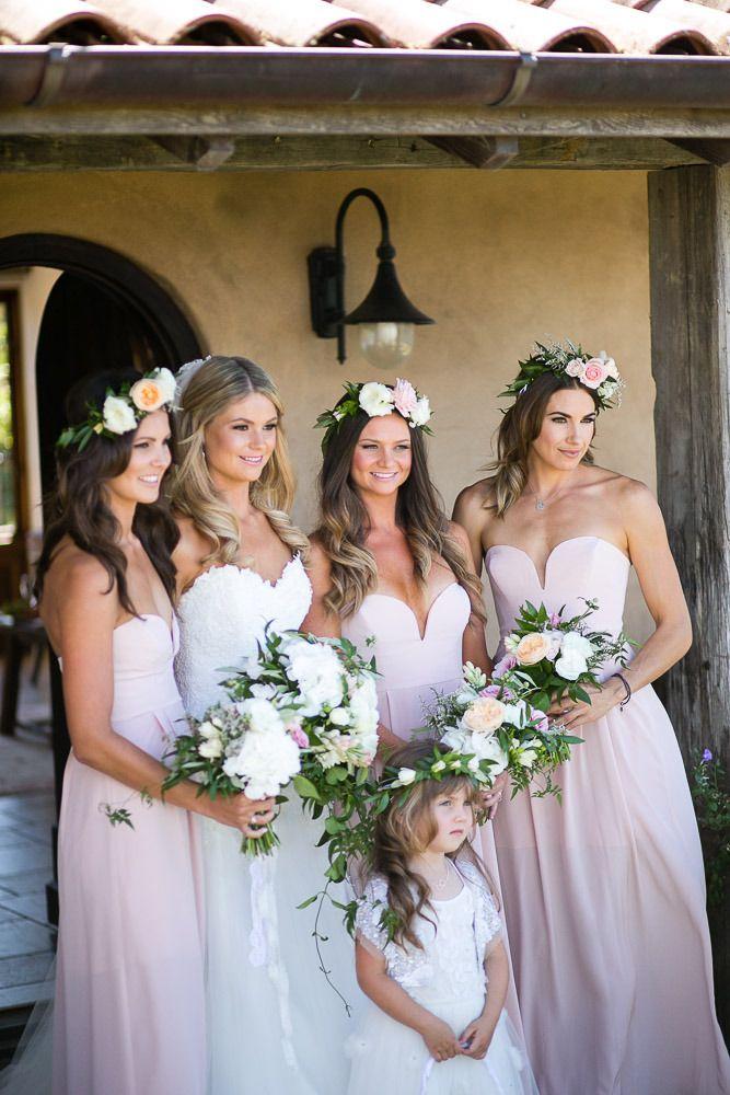 Веночки для подружек невесты