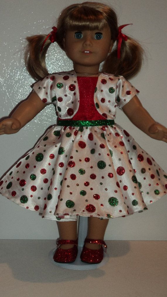 American girl doll clothes christmas dress jacket amp shoes