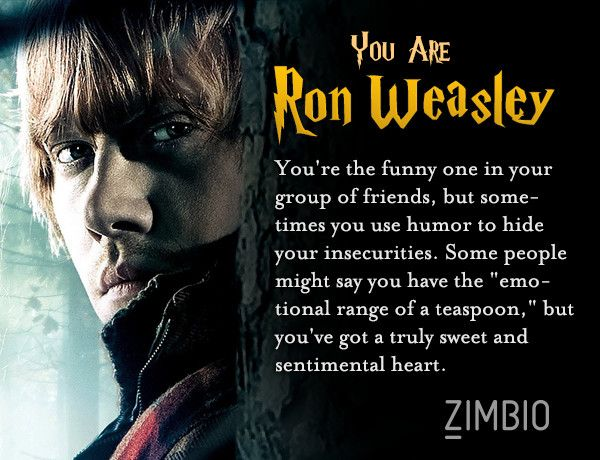 personality quiz harry potter