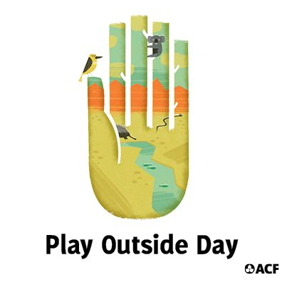 Hey wild things! On Sunday 4 May, it's ACF's Play Outside Day. Go cloudspotting, tree climbing or stargazing. Or go bush!   Hosting an event? Download this social media shareable to spread the word.