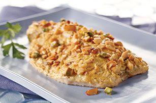 Nut-Crusted Flounder Fillets