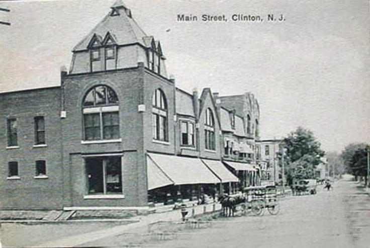 Clinton view of main street 1917 home is where the heart is