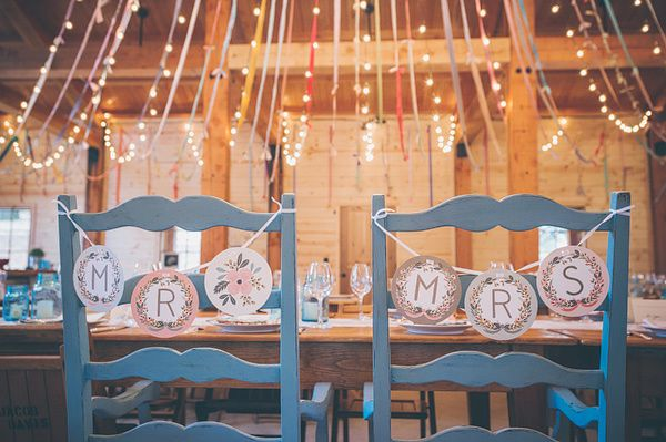 Chair Decor Sacramento Barn Wedding