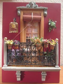Balcón en miniatura - LOLYALIMINIS: concurso de balcones , gané