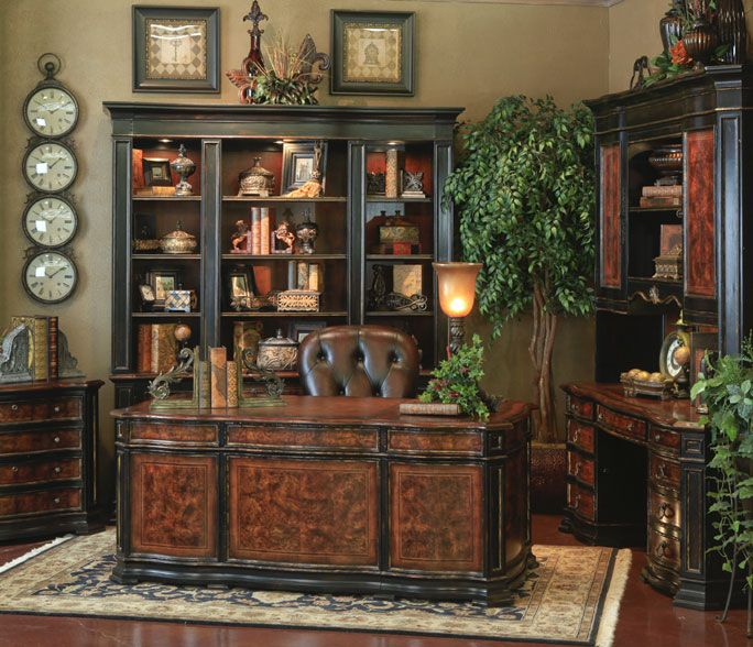 Old world home office old world tuscan decor inspiration for Old world home decor