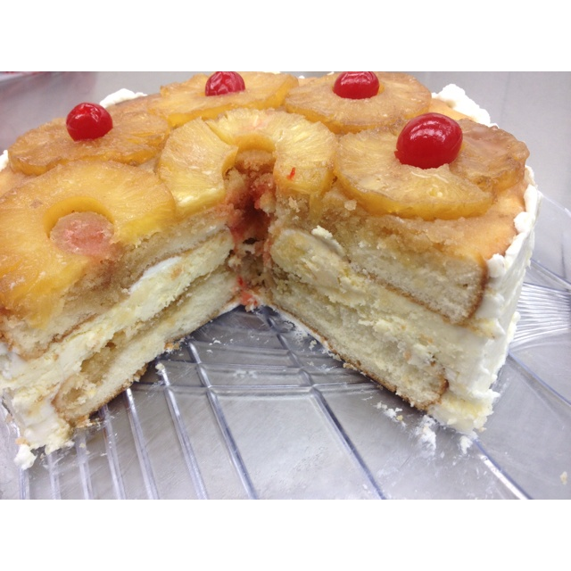 Pineapple upside down cheesecake | Delicious Deserts | Pinterest