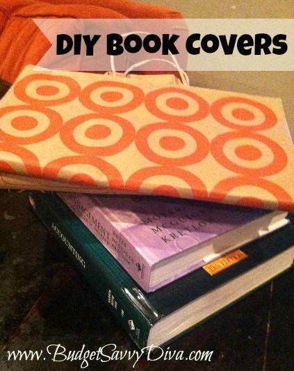 Diy Plastic Book Cover ~ Diy school book covers