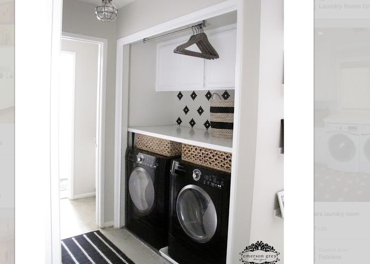 Kast Onder Wastafel : Pinterest Laundry Rooms