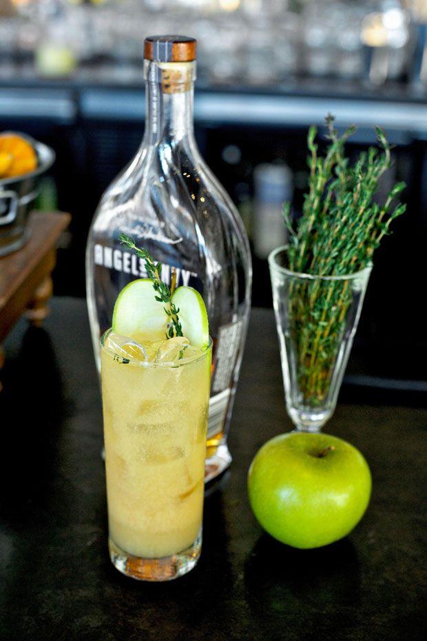 Porkchop Cocktail (bourbon, apple cider, and mustard--no pork!) from @ ...