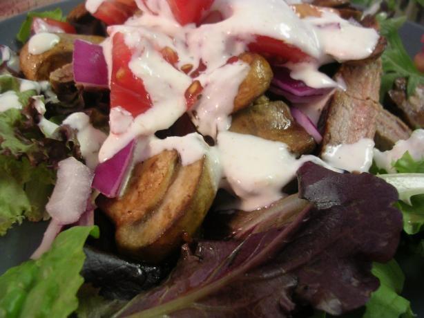 Steak Salad W/Creamy Horseradish Dressing from Food.com: Wonderful ...