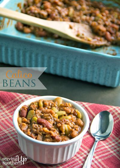 Calico Beans {Other Baked Beans}