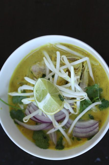 Week of Menus: Lemongrass Coconut Curry Noodle Soup: On change and ...
