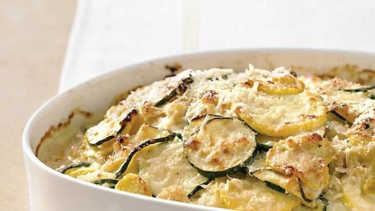 Zucchini and Yellow Squash Gratin | Food and Drink | Pinterest