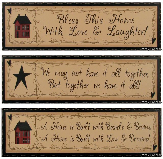 Delightful Country Home Decor Signs Part   6: Signs And Plaques Home Decor.  Http