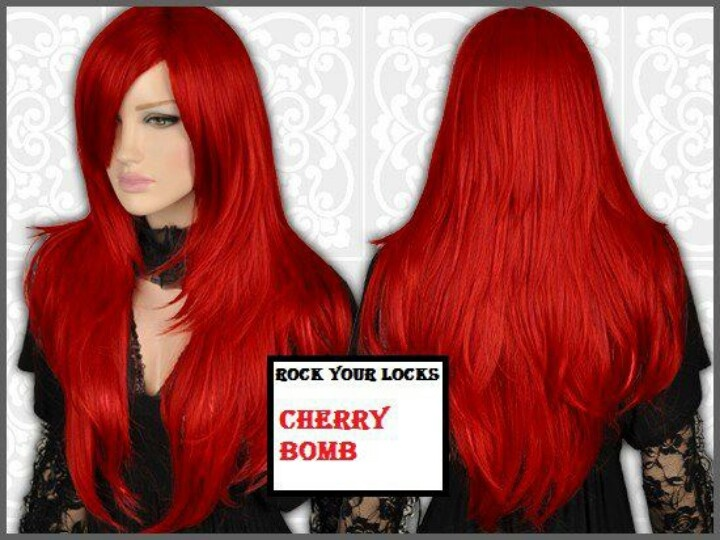 Cherry red hair color | My Style | Pinterest