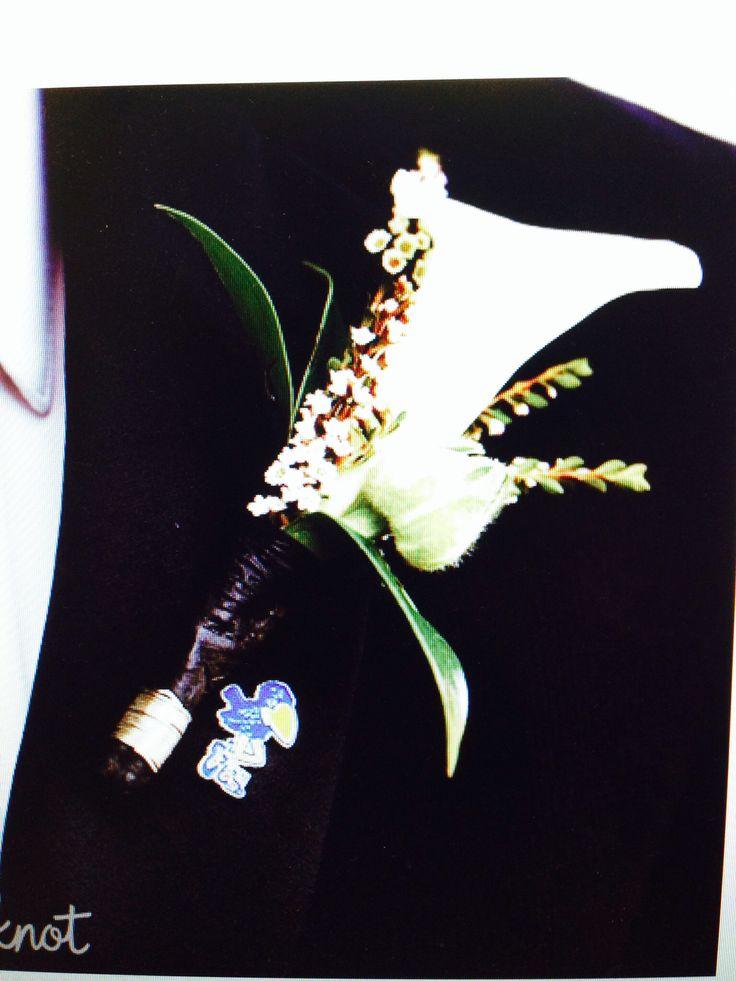 Another grooms boutonnière idea | Wedding stuff | Pinterest