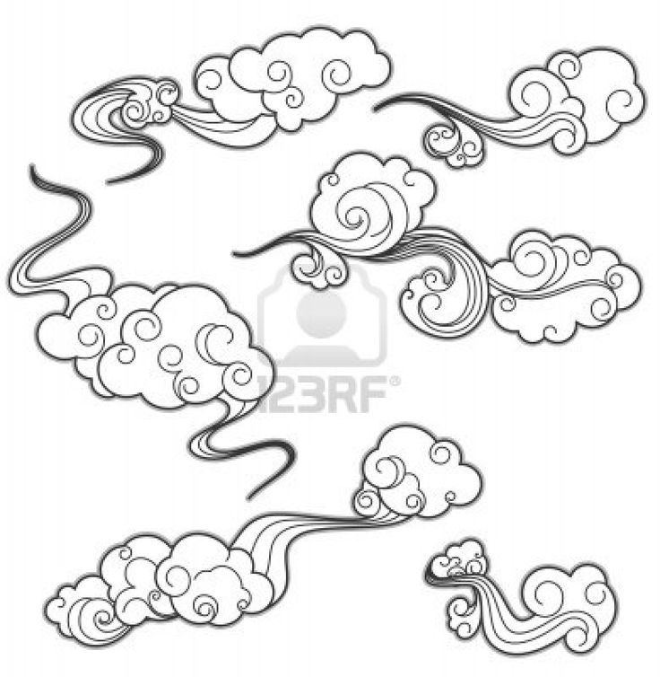 clouds drawing tattoo the image kid has it. Black Bedroom Furniture Sets. Home Design Ideas
