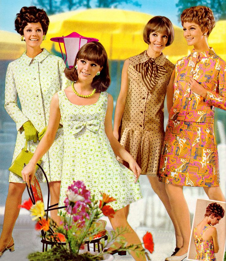 60 39 S Fashion 60s Fashion Pinterest