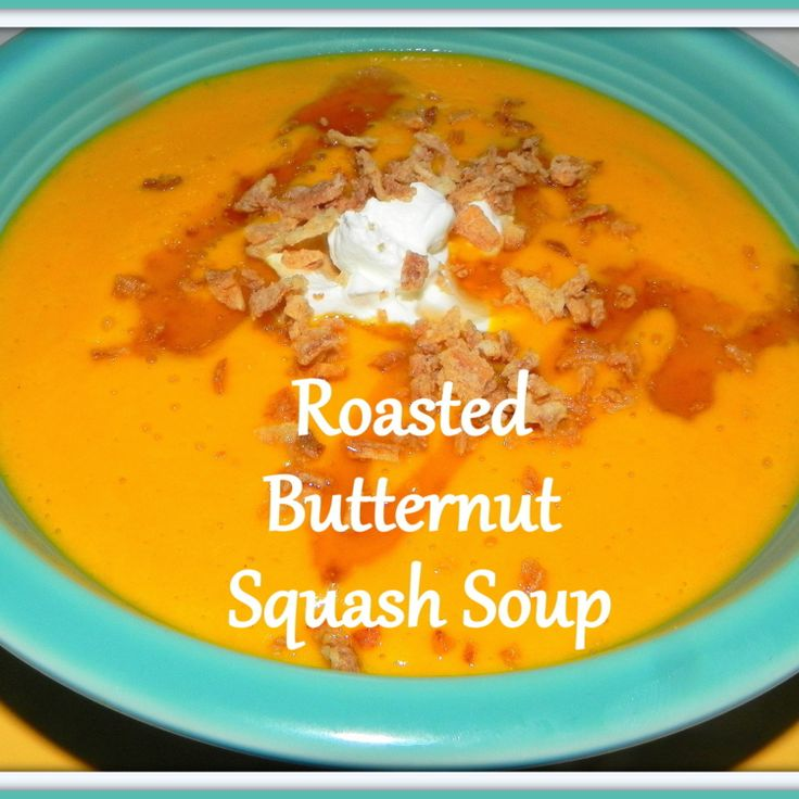 Roasted Butternut Squash Soup Recipe — Dishmaps