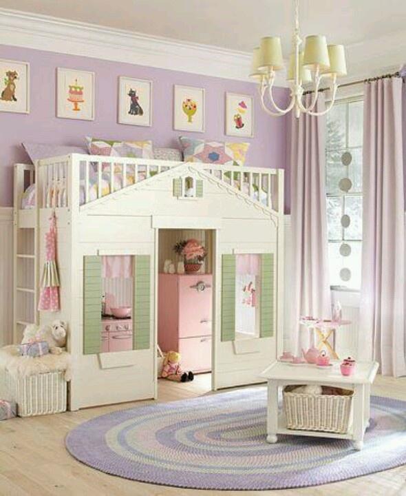 Cute Little Girls Room For The Dream Home Pinterest