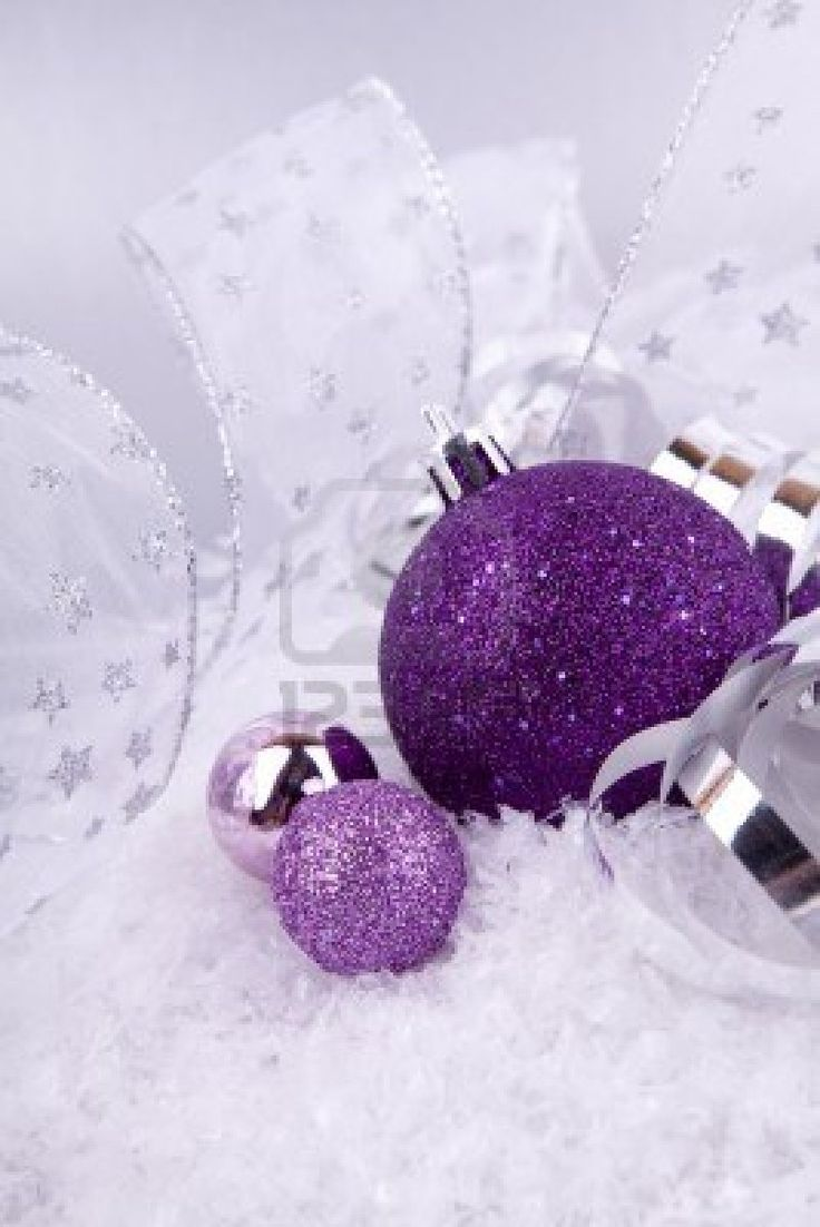 Pin By Cleana H On Purple Christmas Pinterest