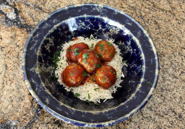 Barbecue Chicken Meatballs | Chicken-Turkey & More..... | Pinterest