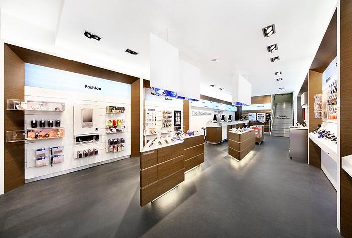The phone house frankfurt coordination store design pinterest