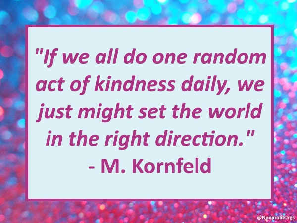 3 Random Acts of Kindness - Ideas to Inspire Kindness