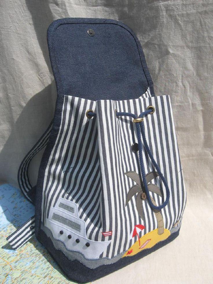 Как сделать своими руками рюкзачок
