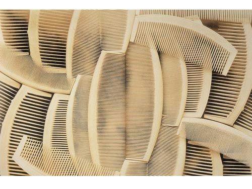Japanese Combs, a 1931 Mather photograph