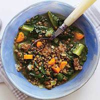 Sausage-and-Lentil Stew | Recipe