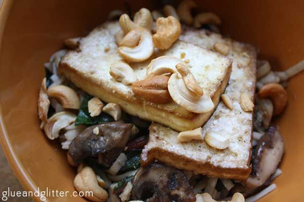 My latest: Asian Noodle Bowl: Garlic Noodles, Mixed Mushrooms, Braised ...