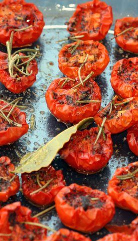 ... Oven Dried Tomatoes with Sumac | A Life (Time) of Cooking | Tomato