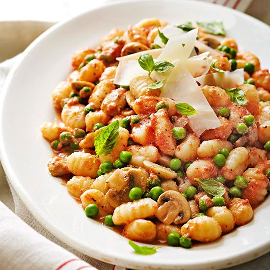 Gnocchi with Creamy Tomato Sauce.Enjoy a quick and luscius taste of ...