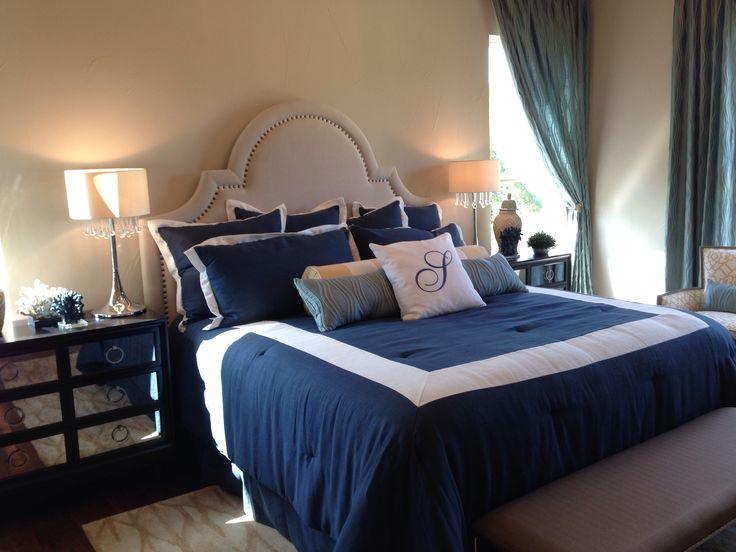 Navy Blue Bedroom Furniture Home Ideas And Designs