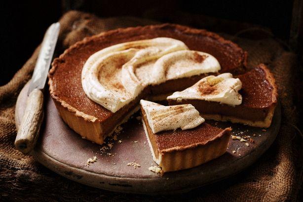 Spiced pumpkin pie | Eats: Pies and Tarts | Pinterest
