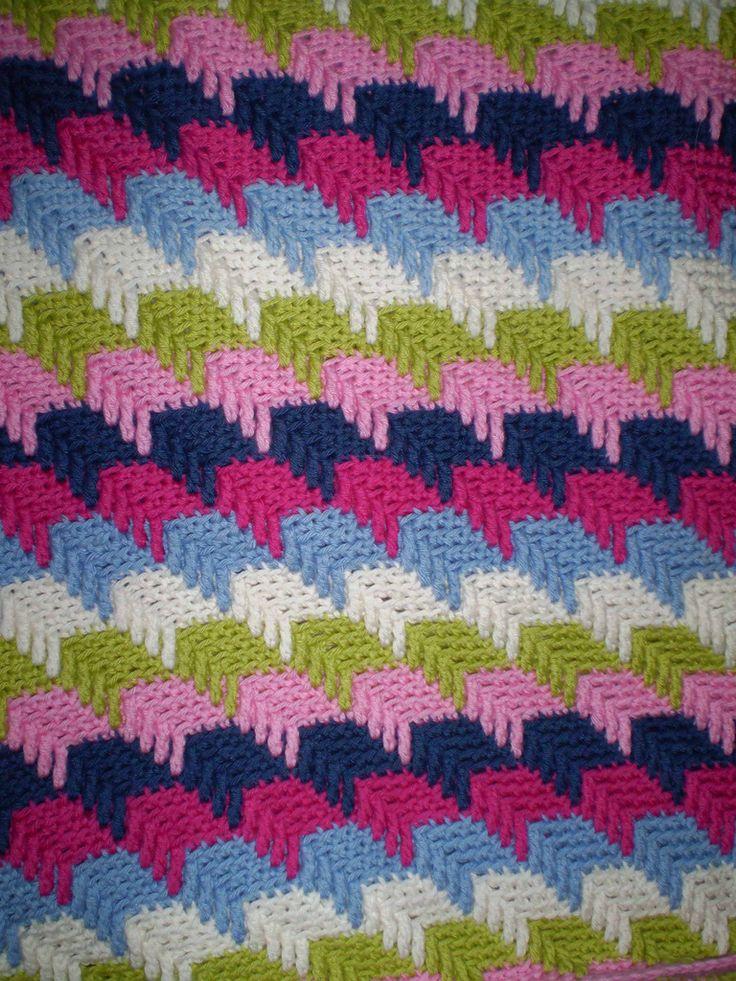 Free Crochet Pattern For Apache Tears Afghan Pakbit For